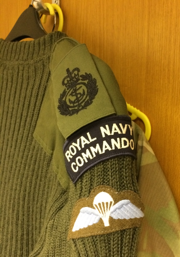 COMBINED OPERATIONS INSIGNIA IN USE